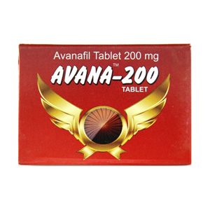 Avanafil in USA: low prices for Avana 200 in USA