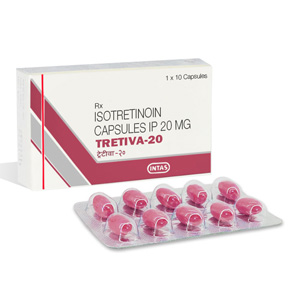 Isotretinoin  (Accutane) in USA: low prices for Tretiva 20 in USA