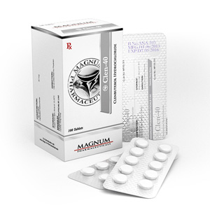 Clenbuterol hydrochloride (Clen) in USA: low prices for Magnum Clen-40 in USA