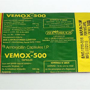 Amoxicillin in USA: low prices for Vemox 500 in USA