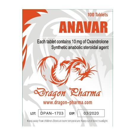 Esteroides orales en España: precios bajos para Anavar 10 en España