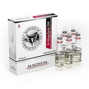 Esteroides inyectables en España: precios bajos para Magnum Mag-Jack 250 en España