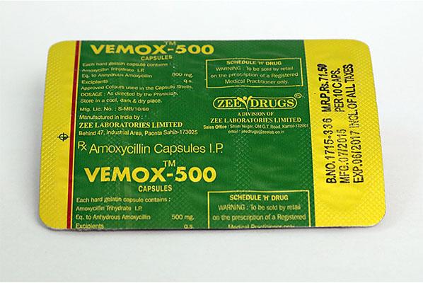 Piel en España: precios bajos para Vemox 500 en España